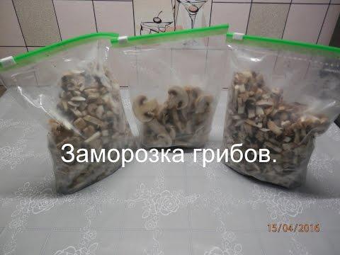 Хранение грибов в домашних условиях