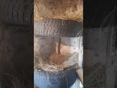 Делаем гнезда для кур-несушек своими руками