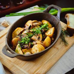 фото ТОП-10 рецептов картошки с грибами