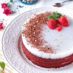 фотоПостный торт на Новый Год