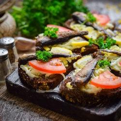 фотоПраздничные бутерброды на Новый Год