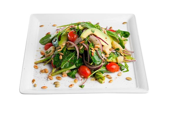 Креольский салат с бататом фото