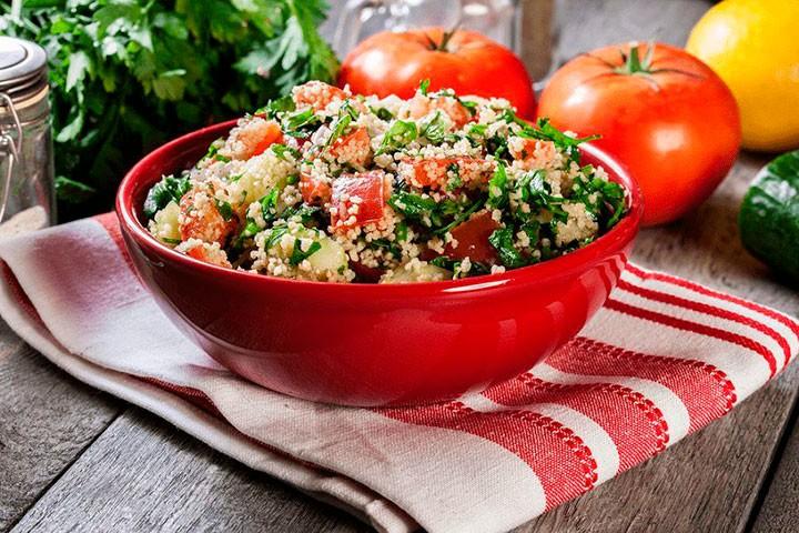 Восточный салат фото