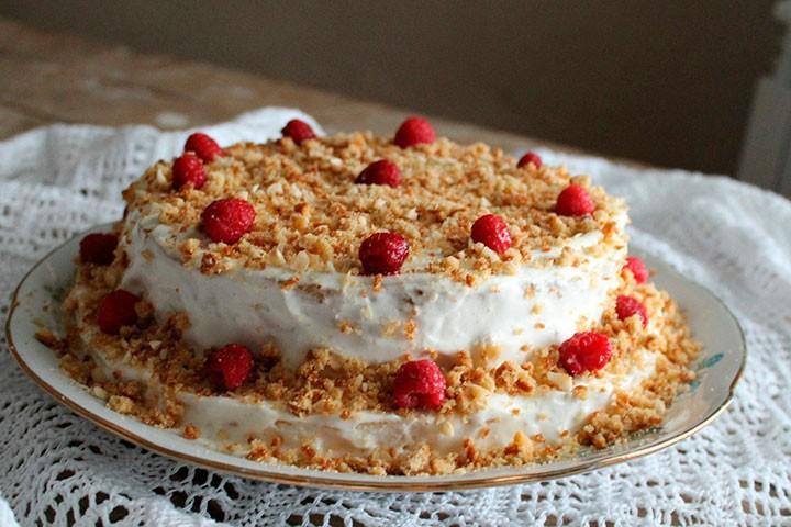 Торт «Сметанник» фото
